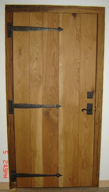 Interior z-batten door