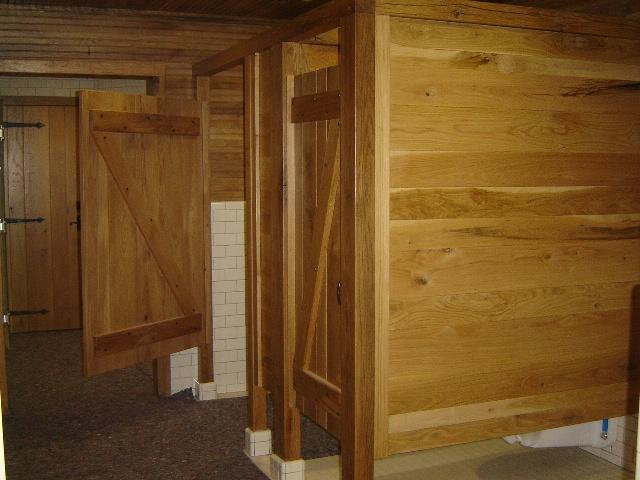 Z-batten doors and partician walls