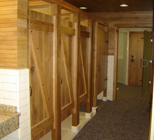 Another view of z-batten doors
