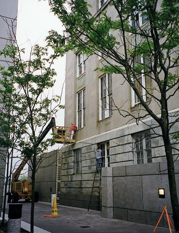 Installation of restored windows