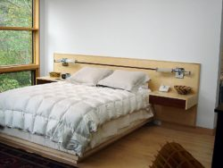 custom hand made bed