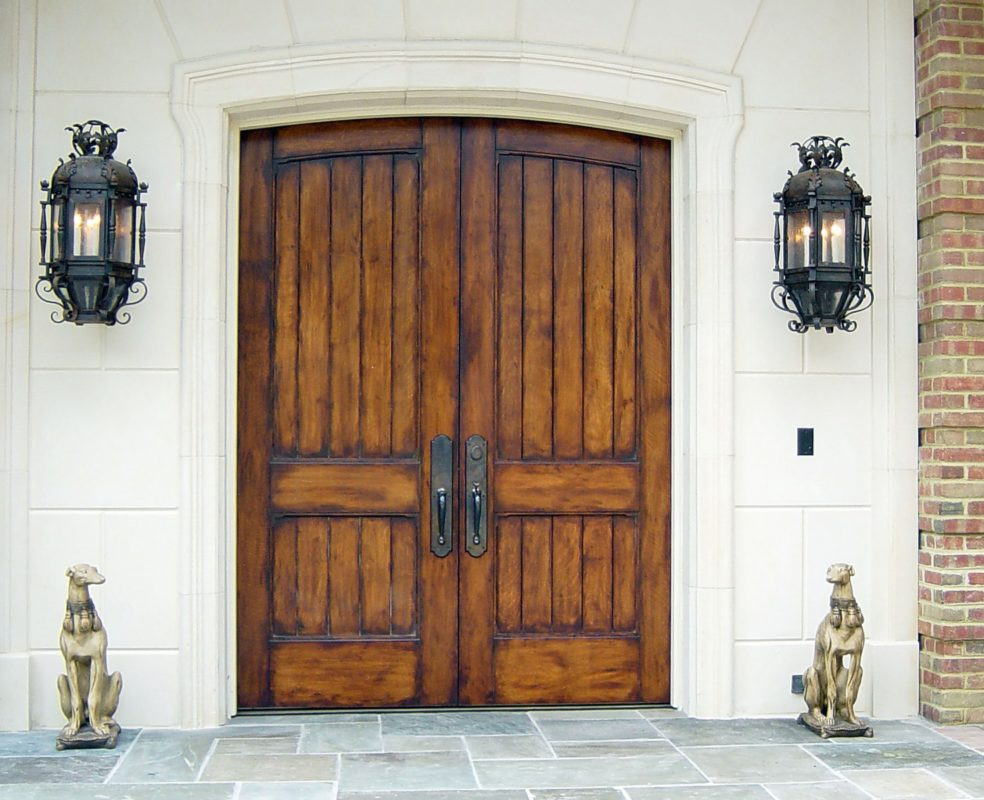 Front doors- 2 1/4 inch thick