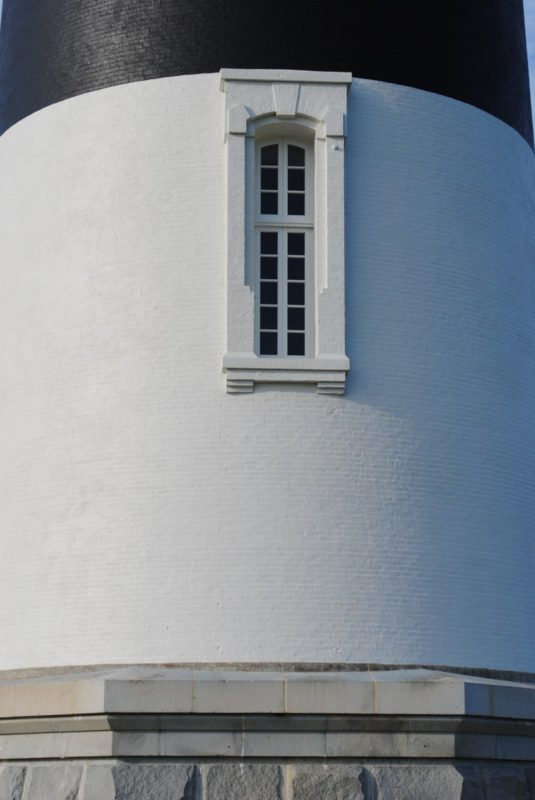 Lower tower window