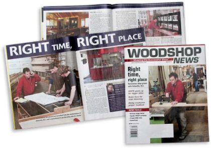 Woodshop News--April 2011