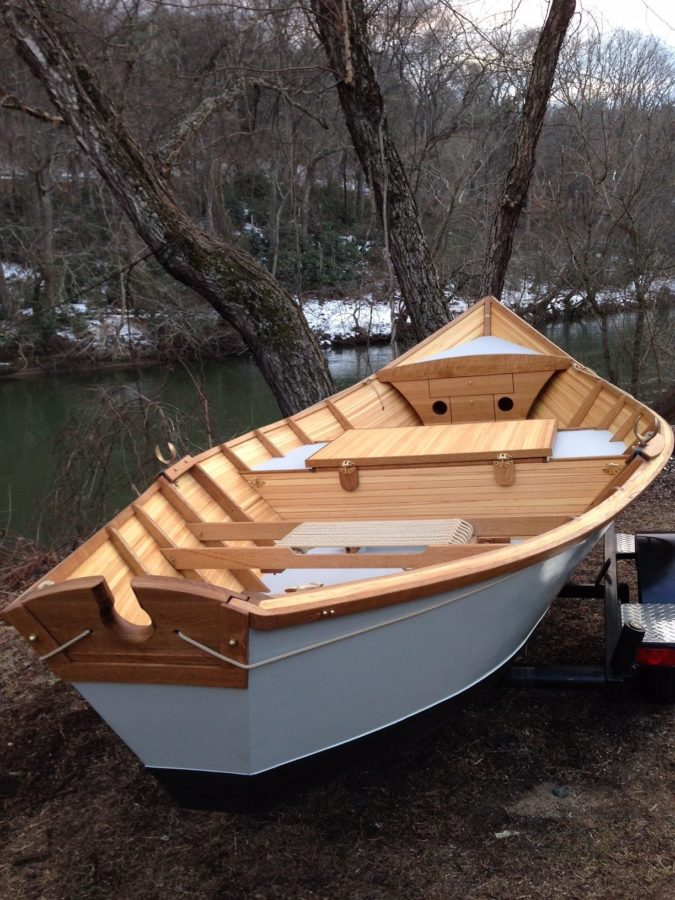 Drift Boat/French Broad Boatworks   Architectural Woodcraft