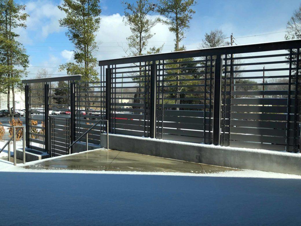 custom privacy screen fence