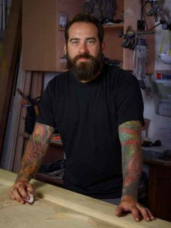 Todd Dupuis, woodworker and metal fabricator