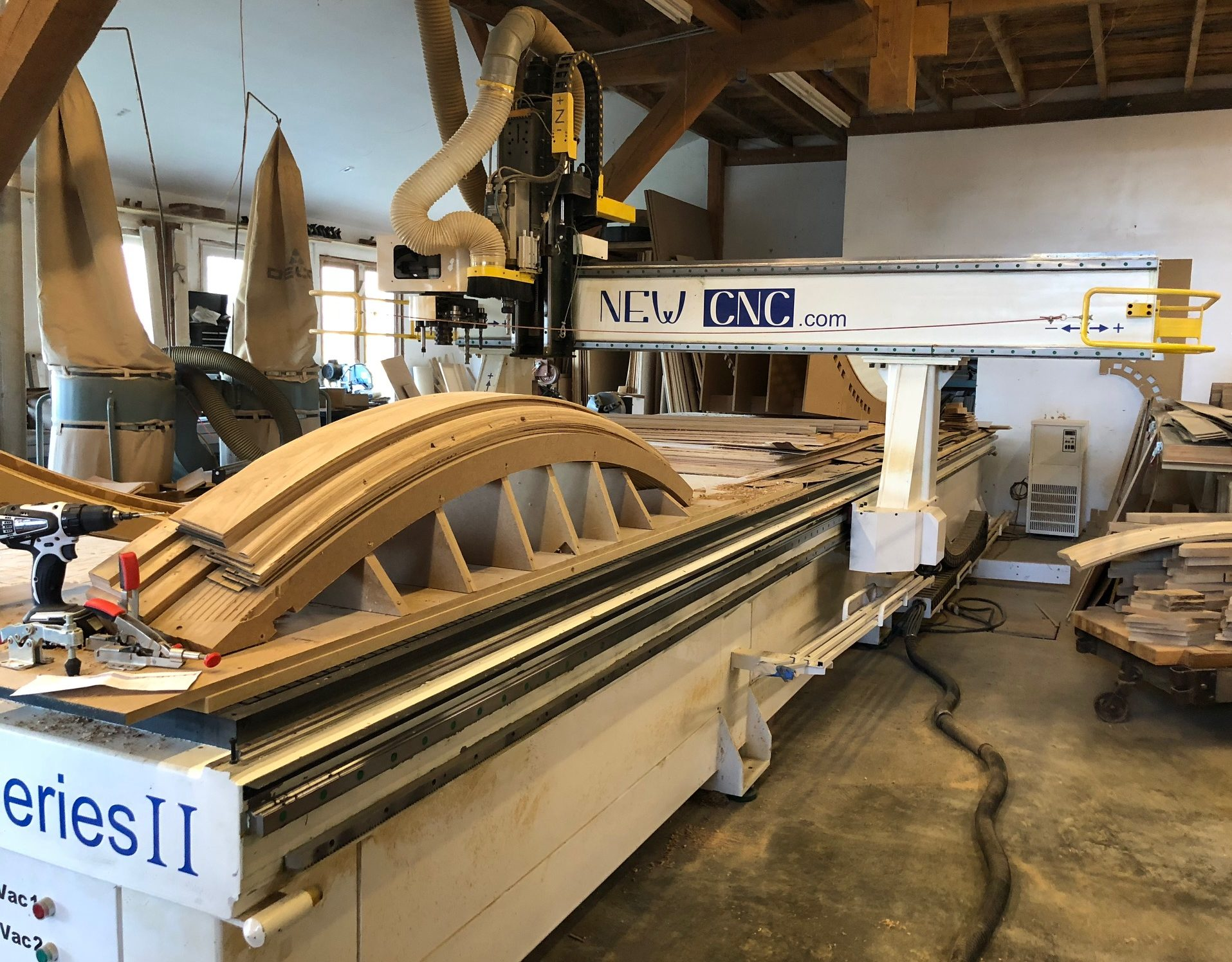 CNC woodworking machine Asheville