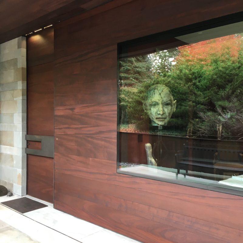 custom modern style pivot door